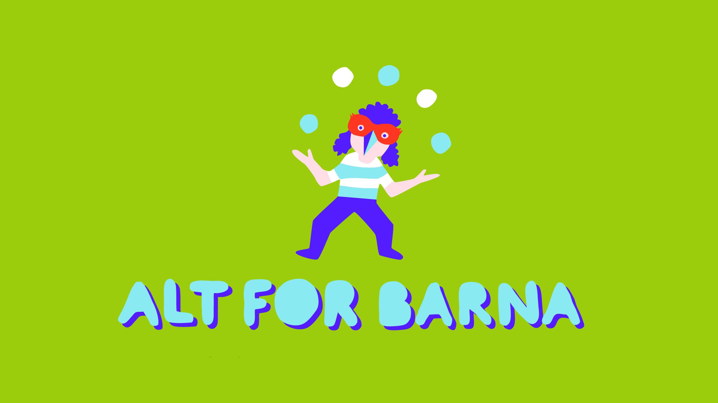 ALT FOR BARNA