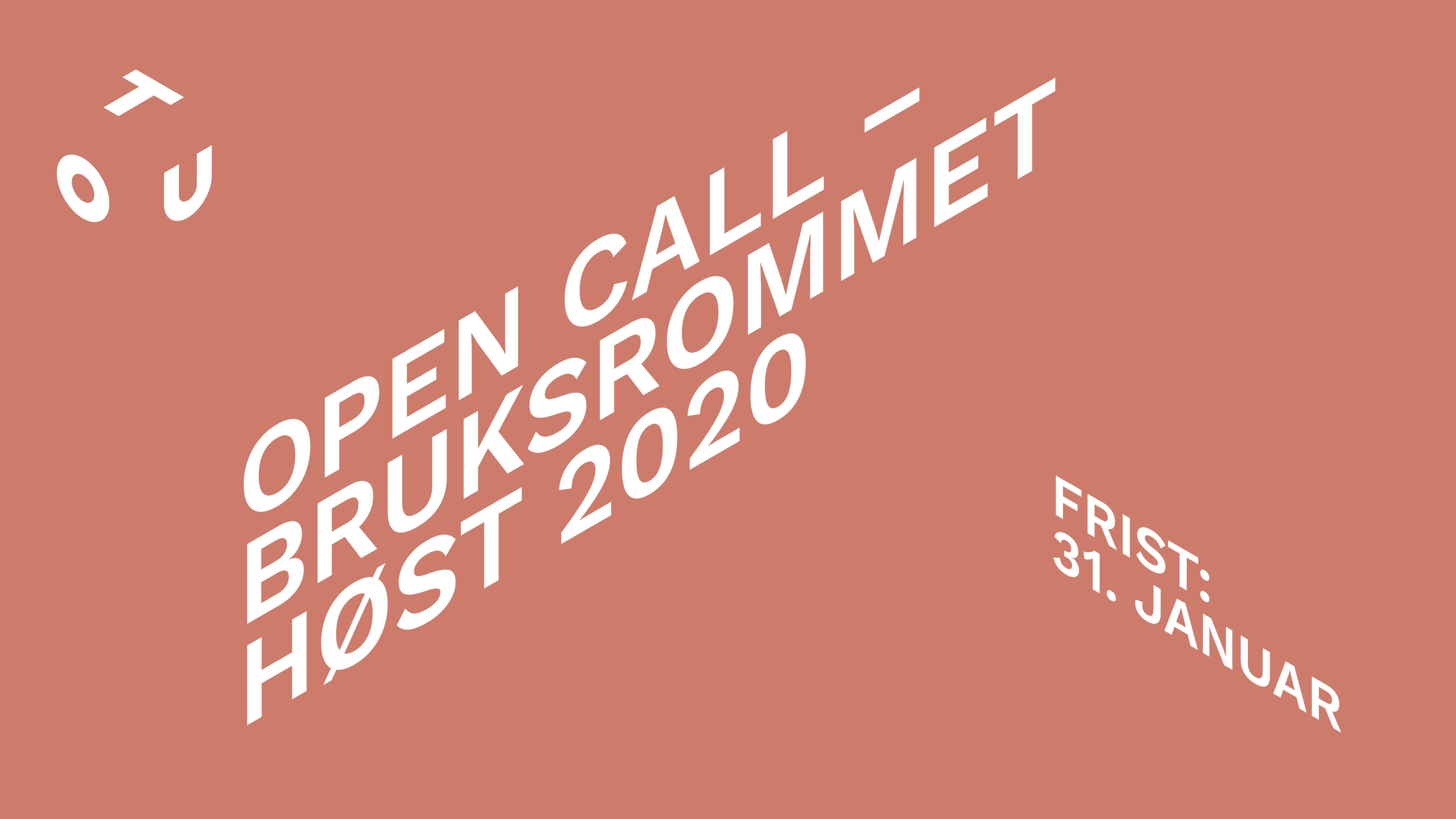 OPEN CALL – BRUKSROMMET
